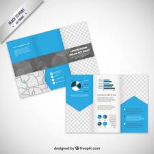 brochure template in modern style vector brochure template in modern style vector