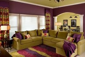 Small Picture Stylish purple living room interior Interior Design Ideas AVSOORG