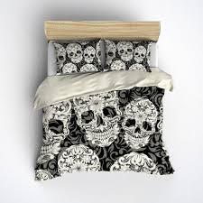 sugar skull duvet cover the duvets
