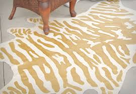 faux animal rug stupefy diy zebra decor fix interior design 40