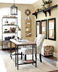 Neutral office decor Interior Home Office With Gray And Neutral Accents Pinterest Home Office With Gray And Neutral Accents Office Home Office
