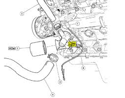 ford f150 the oil pressure sensor is located crew cab poss positive wire is white red striped