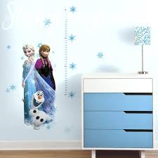 frozen growth chart wall sticker decal baby