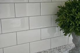 white subway tiles with grey grout. Interesting White Subway Tile With Gray Grout White   In White Subway Tiles With Grey Grout E
