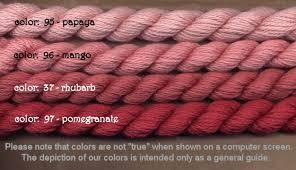 River Silks Color Chart Silk Ivory