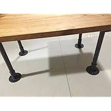 Industrial Pipe Table Legs&Shelf Legs ,12''or16''Heigh,Coffee Tables&Bench