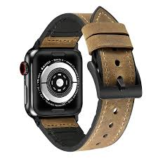 leather strap for apple watch 42 44 mm brown leather strap iwatch straps neo plus products