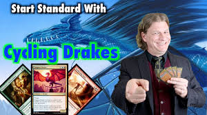 mtg start playing standard for 100 with cycling drakes for magic the gathering
