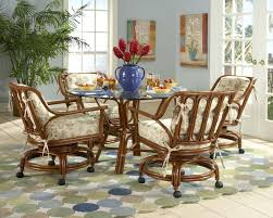 dining room chairs with casters dining room table sets with chairs wheels wooden swivel casters on dining room chairs with casters