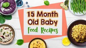 15 Month Old Baby Food Recipes