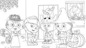 Let your little one color these bats however they want. Happy Halloween Coloring Page Kids Coloring Pbs Kids For Parents