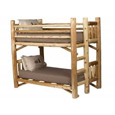 rustic bed frames. Wonderful Frames Rustic Cabin Bunk Bed Intended Frames E