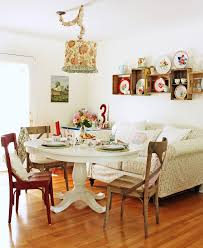 white dining table shabby chic country. Sumptuous Crate And Barrel Lighting Look Chicago Shabby Chic Dining Room Decoration Ideas With Centerpiece Cottage Country White Table B