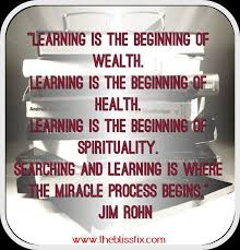 What Does This Quote Mean New What Does This Quote Mean To You How Has Learning Affected Your