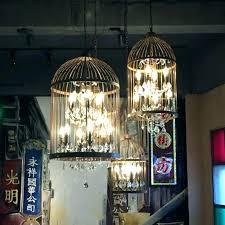 birdcage light fixtures glass cage