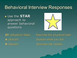Star Approach Interview Tips For Interview Success Highlights Purpose Of The