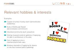 Hobbies And Interests Resume New Resume Interests Examples Hobbies Examples Cv Other Interests