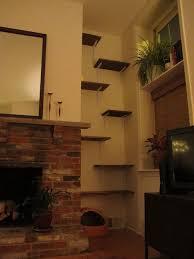 Corner Cat Shelves DIY Cat Shelves Alternative To An Expensive Cat Tree What More 95