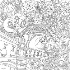 Small Picture Amazoncom The Magical City A Colouring Book Magical Colouring