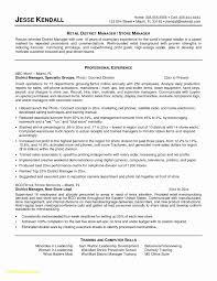 Retail Resume Samples 2014 Unique 23 Store Manager Resume Free