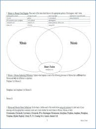 Comparing Mitosis And Meiosis Venn Diagram Mitosis Vs Meiosis Worksheet Answers Mitosis Vs Meiosis Worksheet