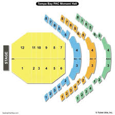 Morsani Seating Chart Morsani Hall