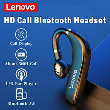 2020 Original <b>Lenovo HX106</b> HD Call <b>Wireless Headset</b> Bluetooth ...