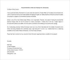 Recommendation Letter For Student Scholarship Pdf Recommendation Letter Fellowship Zlatan Fontanacountryinn Com