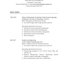 Basic Resume Layout Australia Oneswordnet