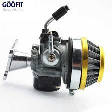 goofit 19mm carburetor with cable choke for 110cc atv dirt bike go kart n090 006