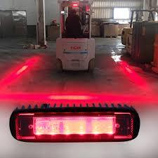 Land Rover Defender Red Warning Light Us 8 17 5 Off Forklift Safety Light High Power Led Security Indicator Light For Warehouse Pedestrian Red Danger Warning Spotlights 1pcs In Car Light