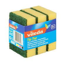 """<b>Губка</b> """"Тип-Топ"""" <b>Vileda</b> 3 шт, Германия - купить c доставкой на ..."""