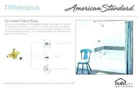 bathroom shower faucet height standard