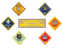 Arrow Of Light Striping New Program Pin On Bsa Cub And Boy Scout Rank Pictures