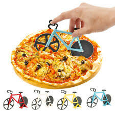 Large <b>Pizza Cutter</b> Slicer Strong Stainless Steel <b>Blade</b> Kitchen ...