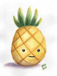 cute pineapple drawing. 1000+ ideas about cute drawings on pinterest | how to draw cartoons, easy pineapple drawing
