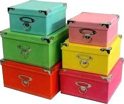 decorative storage boxes bins file box home goods shelves with baskets s