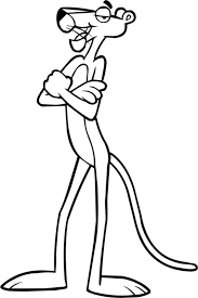 Small Picture Pink Panther Coloring Pages jacbme
