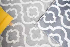 although very soft and affordable this polypropylene rug may fade and look a little flattened quickly shown here is the rug our writer owned for six