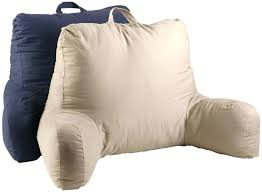 tv bed pillow lounger bed rest back pillow support arm le as seen on tv bed