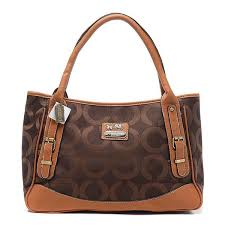 coach kelsey smooth medium brown satchels bdt outlet sale  coach madison  buckle in signature large coffee satchels bqz