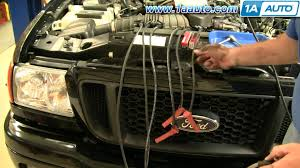 how to install replace spark plug wires 1aauto com youtube 2005 Ford Explorer Spark Plug Wire Diagram 2005 Ford Explorer Spark Plug Wire Diagram #47 2005 ford ranger spark plug wire diagram