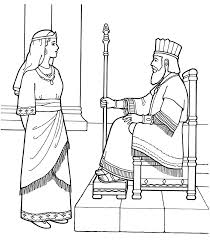 Small Picture An LDS Primary coloring page from ldsorg Queen Esther with the
