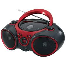 jensen portable stereo cd player with am fm stereo radio