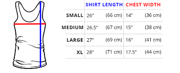 Top Measurement Chart Sizing Guide Teeturtle