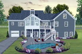 traditional house plans. Craftsman European Traditional House Plan 93483 Rear Elevation Plans