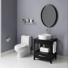 Bathroom Vanity Black Decolav 5360 Ambrosia Black Bathroom Vanity Solid Wood Frame