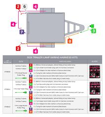 7 Prong Trailer Light Diagram 7 Wire Trailer Harness Diagram Eyelash Me