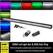 50 Inch Light Bar Halo