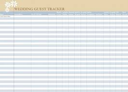 wedding spreadsheet free wedding guest list tunnelvisie